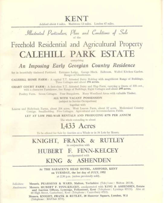 Calehill House auction (2)